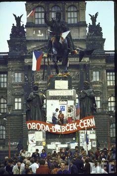 Recuerdos de la Primavera de Praga, foto de agosto de 1968.