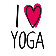 I love yoga. Don't we all?