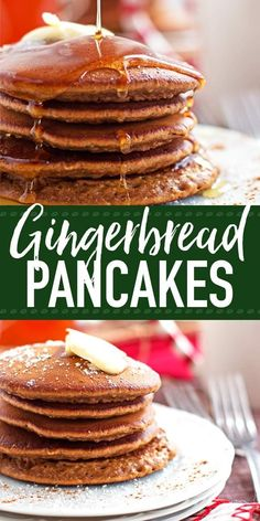 The best soft and fluffy Gingerbread Pancake recipe! This is perfect for breakfa… – Pancake Recipes The best soft and fluffy Gingerbread Pancake recipe! This is perfect for breakfa… – Christmas Pancakes, Gingerbread Pancakes, Christmas Breakfast, Christmas Baking, Christmas Morning, Christmas Gingerbread, Gingerbread Recipes, Birthday Breakfast, Breakfast Pancakes