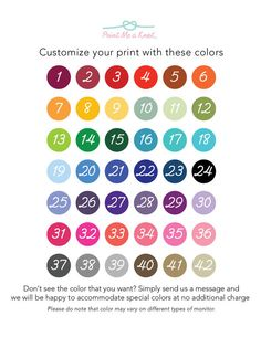 8x10 Anniversary Numbers Print // Personalized by PrintMeAKnot