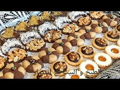 حلويات العيد_ تتمة بلاطو حلويات سهلة وراقية بعجين واحد وبدون فرن من ألذ الحلويات/الجزء2  - YouTube