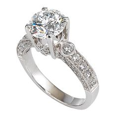 Jacob & Co. - 2.09-carat round brilliant-cut diamond in 18kt white gold band...