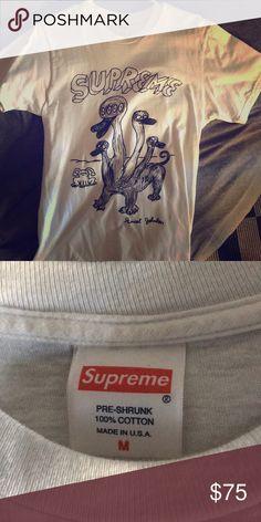 Supreme t-shirt Rare supreme t-shirt  Worn twice Supreme Shirts Tees - Short Sleeve