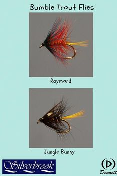 sizes10,12,14,16 Available 3 x BLACK PENNELL PEARLY FLY FISHING TROUT FLIES