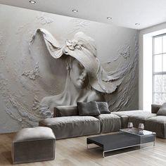 Wallpapers Home Improvement Dependable Beibehang Custom Wallpaper Mural Modern Metal Abstract Golden Geometric Mural Background Wall Papel De Parede 3d Wallpaper Sufficient Supply