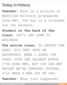 Best history class ever