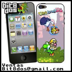 Case Yoshi island #pixelart Te elaboramos cualquier diseño de videojuegos. Más información en bit8dos@gmail.com