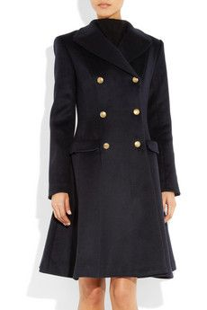 IssaWool and Cashmere-blend Coat