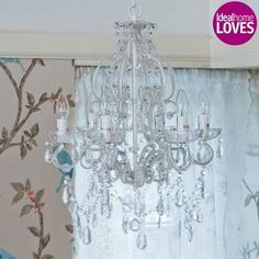 Princess Crystal Chandelier by The French Bedroom Company