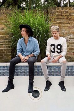 Harry Styles and Niall Hora :)