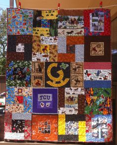 This is my Rockin' G quilt!  A little bit of history.