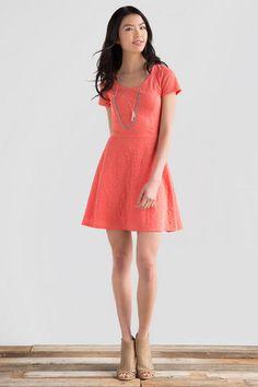 Lakyn Textured Dress francesca's