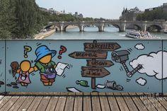 Jace on Pont des Arts project