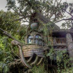 Tree House by David Fielding (Rhino300)) on 500px.com
