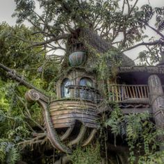 Tree House by David Fielding (Rhino300)) on 500px.com