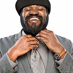 GREGORY PORTER  Mad crush on this man  Lion's Song, Hey Laura and Movin are my favorites