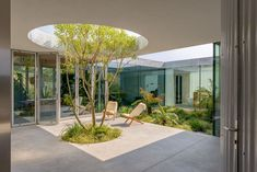 Villa Fifty-Fifty has equal parts indoor and outdoor spaces | Archello