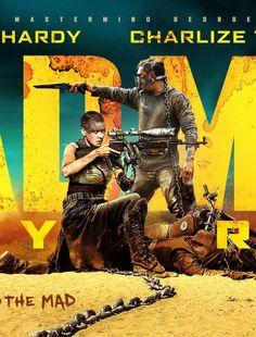CIA☆こちら映画中央情報局です: Mad Max: シリーズ復活の最新作「マッドマックス: フューリーロード」が、初公開のカットを披露した台湾版のTVスポット2本と、マックスとフリオーサをフィーチャーした新しいポスター3枚!! - 映画諜報部員のレアな映画情報・映画批評のブログです