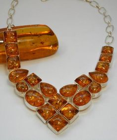 *Amber Necklace 1 - Andrea Jaye Collection