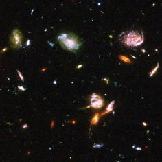 Hubble 'lost' light: NASA photo shows DEEPEST view into universe EVER - Whirlpool Galaxy-Andromeda Galaxy-Black Holes Hubble Space Telescope, Space And Astronomy, Hubble Ultra Deep Field, Astronomy Pictures, Aesthetic Space, Nasa Photos, Hubble Images, Space Images, Space Photos