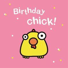 Birthday chick! #Hallmark #HallmarkNL #birthday #verjaardag #happybirthday…
