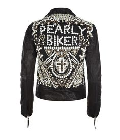 ALL Saints Pearly Queen Leather Biker Jacket