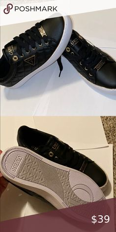 Shop Women's Guess Black size 8 Flats & Loafers at a discounted price at Poshmark. Description: Brand new GUESS women's shoes size Sold by nasehalzaim. Loafer Flats, Loafers, Guess Shoes, Shoe Brands, Fashion Design, Fashion Tips, Fashion Trends, Louis Vuitton, Brand New