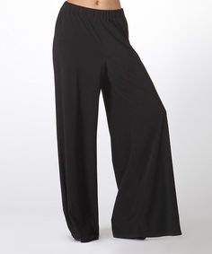 Look what I found on #zulily! Black Palazzo Pants #zulilyfinds