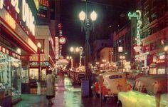 Broadway, 1950's