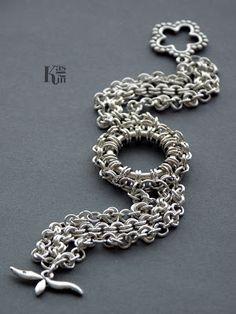 Kashin Jewellery: Botein - bransoletka chainmaille