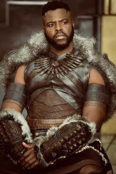 """Tom™ // Comissions are Open on Twitter: """"I can't get over how Fucking Beautiful Winston Duke is as M'Baku ?!?!? I MEAN LOOK AT HIM ?!?! WOW !!!… """""""