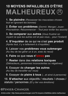 Demonstrate how to be unhappy- Manifeste comment être malheureux Demonstrate how to be unhappy - Vie Positive, Positive Attitude, Positive Affirmations, Positive Quotes, Evolutionary Psychology, Educational Psychology, Art Psychology, Personality Psychology, Burn Out