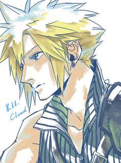 Cloud Final Fantasy VII #FFVII 7