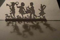 paper cut children
