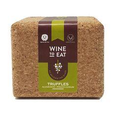 TRUFAS DE CHOCOLATE / ALVARINHO - WINE TO EAT