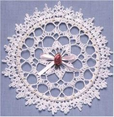 Lace Suncatcher and Box Crochet Pattern