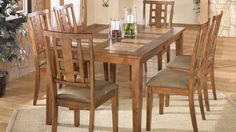 Tucker Dining Set Casual Tables Dining Room Furniture DFW