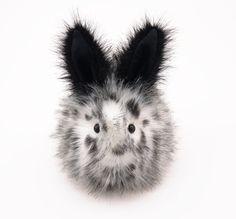 Stuffed Animal Stuffed Bunny Cute Plush Toy Bunny by Fuzziggles, $35.95