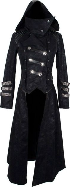 cool Gothic shop: women's transformable coat by Punk Rave