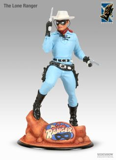 Polystone Statue - Electric Tiki - The Lone Ranger #2731