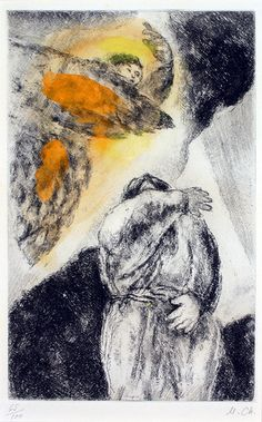 Marc Chagall, Elijah's Vision   by Haggerty Museum