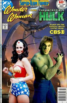 Super-Team Family: The Lost Issues!: Wonder Woman and The Hulk (The Movie!)