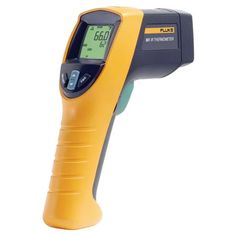 The Fluke 561 IR contact thermometer combines the temperature measurement functions that industrial, electrical, and HVAC/R professionals need in one tool - an IR thermometer for non-contact measurements, with K-type thermocouple capability for contact temperature measurement
