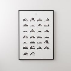 Mountains ABC Print