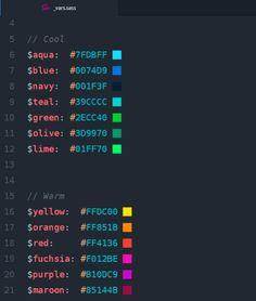 Pigments, una de Mis 9 extensiones de Atom favoritas http://www.silocreativo.com/mis-9-extensiones-atom-favoritas/