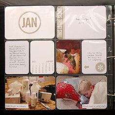 Project Life | January 2013 (organized by the month)