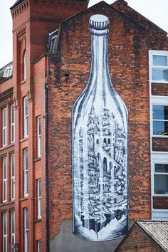 Manchester street art draws attention to social issues – in pictures