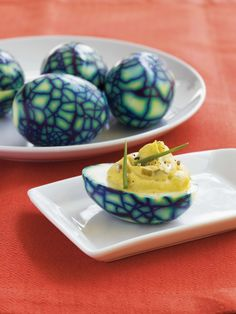 Deviled Dragon's Eggs -- love this simple idea for a Dragons and Knights…