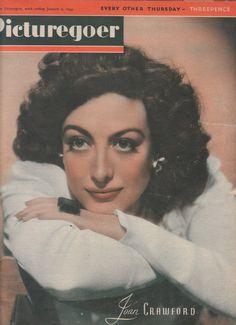 Vintage Picturegoer UK  Film  Magazine 1943 Joan by FattyandBaldy