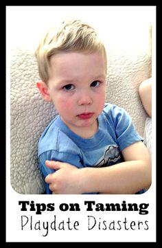 Taming playdate disasters | Tiny Oranges